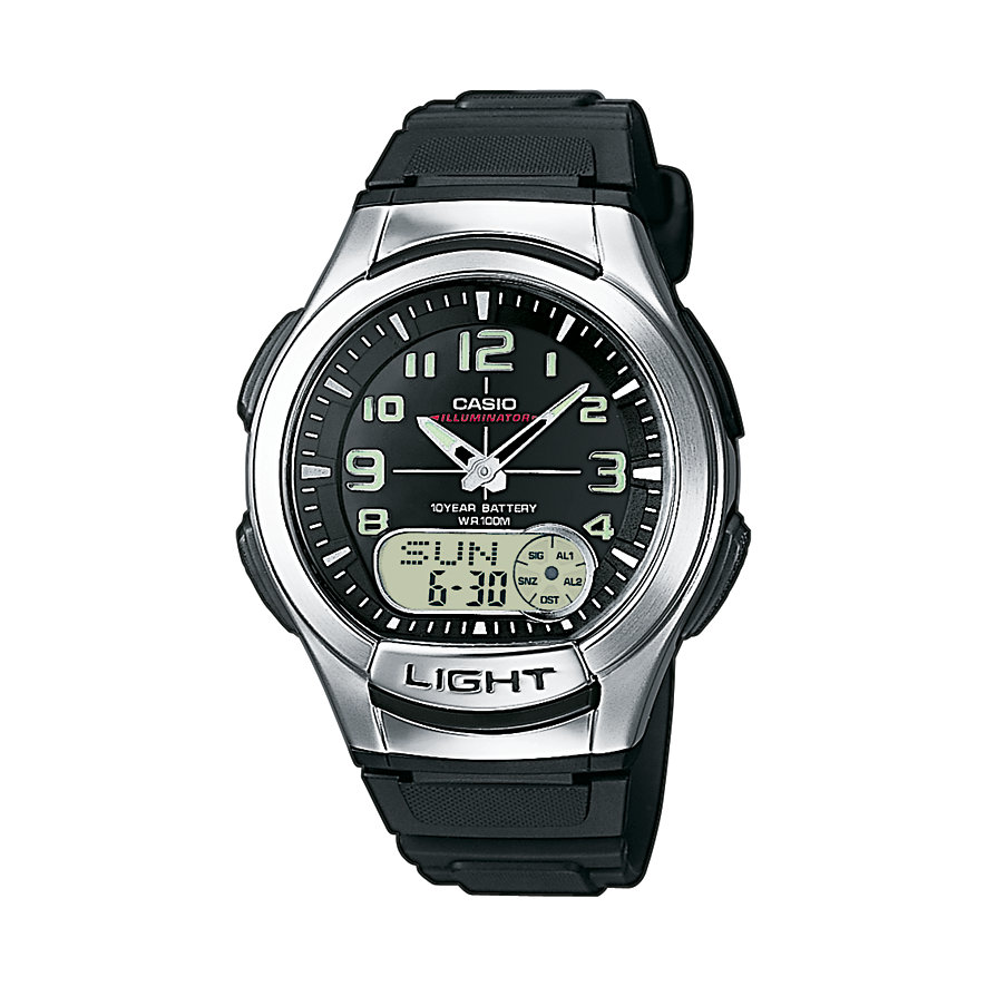 Casio Collection Chronograph AQ-180W-1BVES