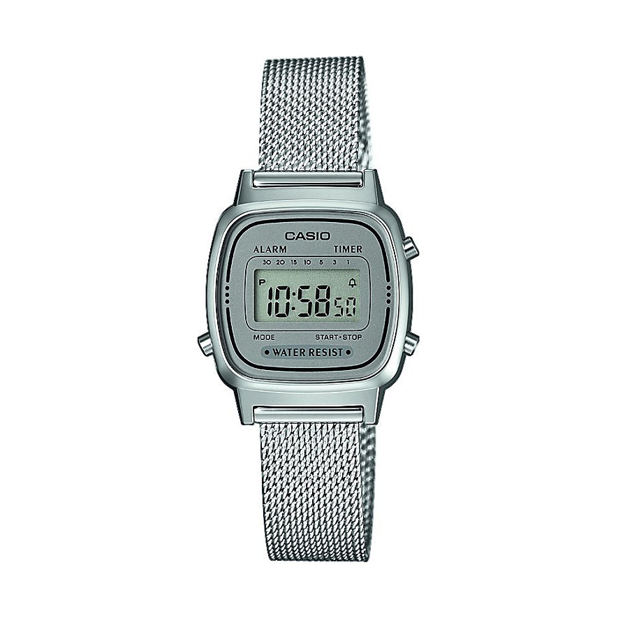 Casio Collection Damenuhr Retro LA670WEM-7EF