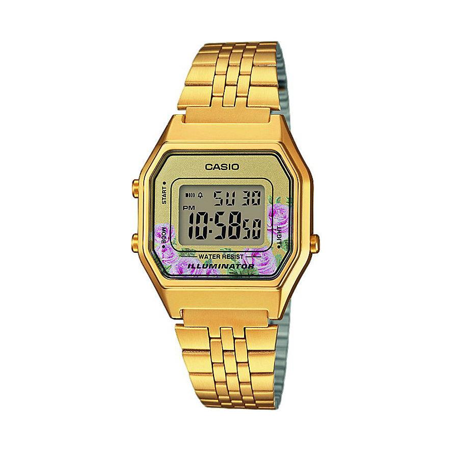 Casio Collection Damenuhr Retro LA680WEGA-4CEF