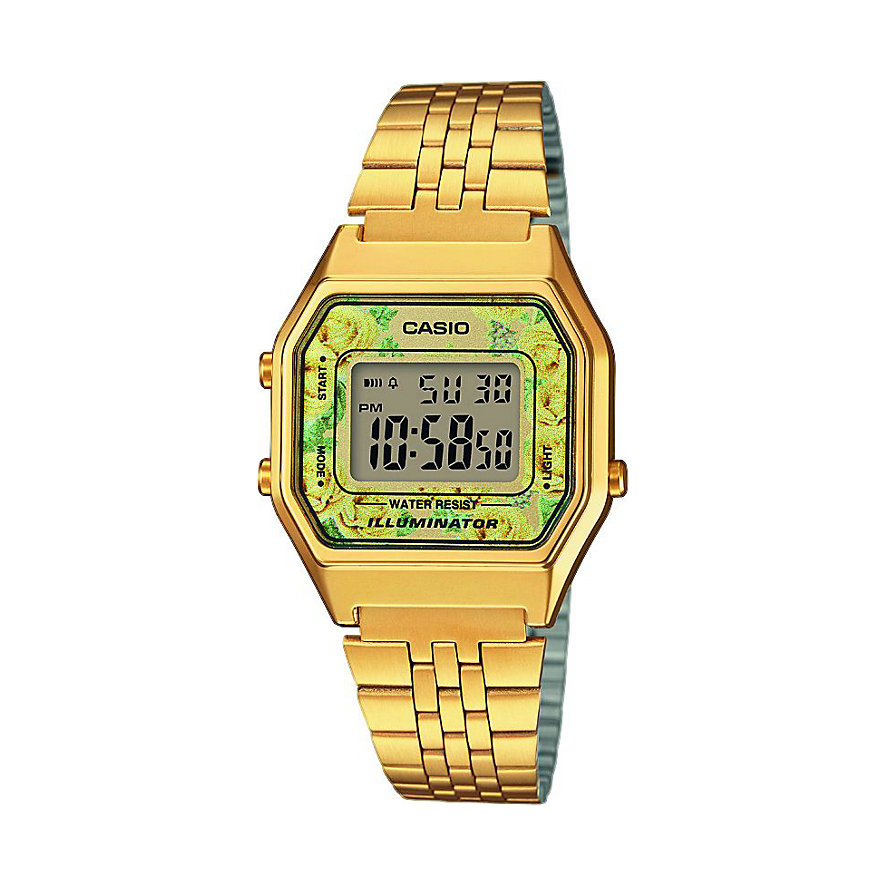 Casio Collection Damenuhr Retro LA680WEGA-9CEF