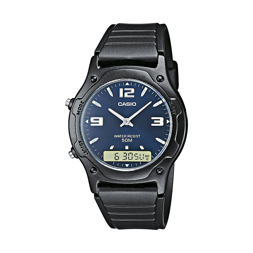Casio Collection Herrenchronograph AW-49HE-2AVEF