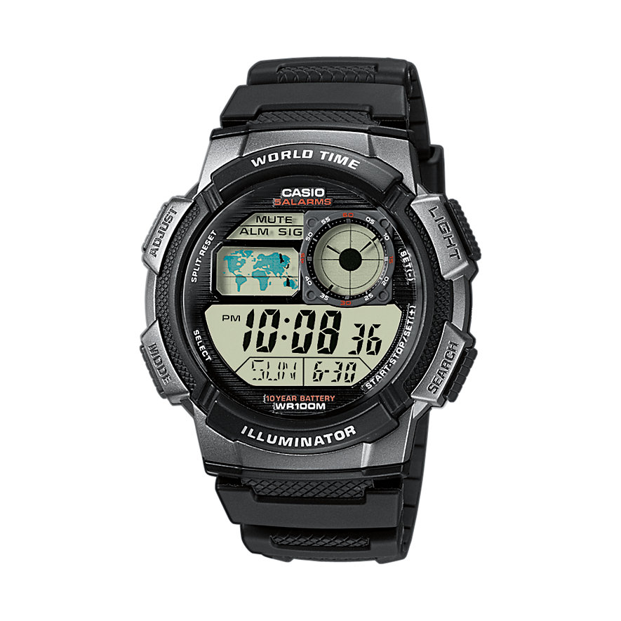 Casio Collection Herrenuhr AE-1000W-1BVEF