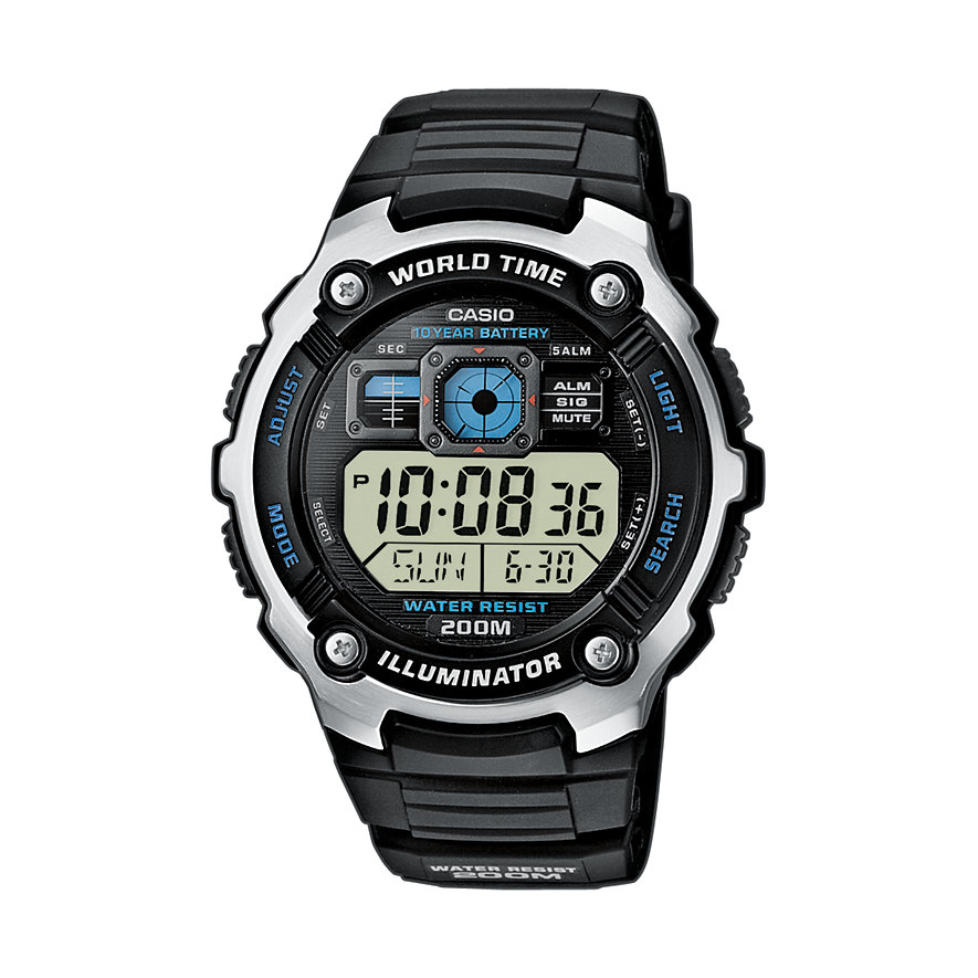 Casio Collection Herrenuhr AE-2000W-1AVEF