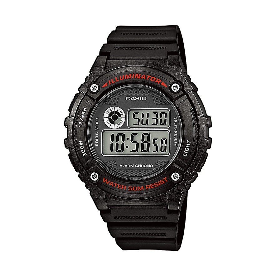 Casio Collection Unisexuhr W-216H-1AVEF