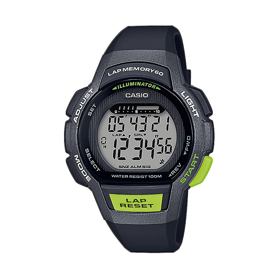 Casio Damenuhr Casio Collection LWS-1000H-1AVEF