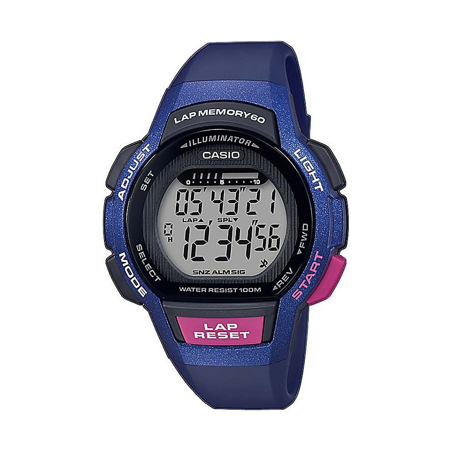 Casio Damenuhr Collection LWS-1000H-2AVEF
