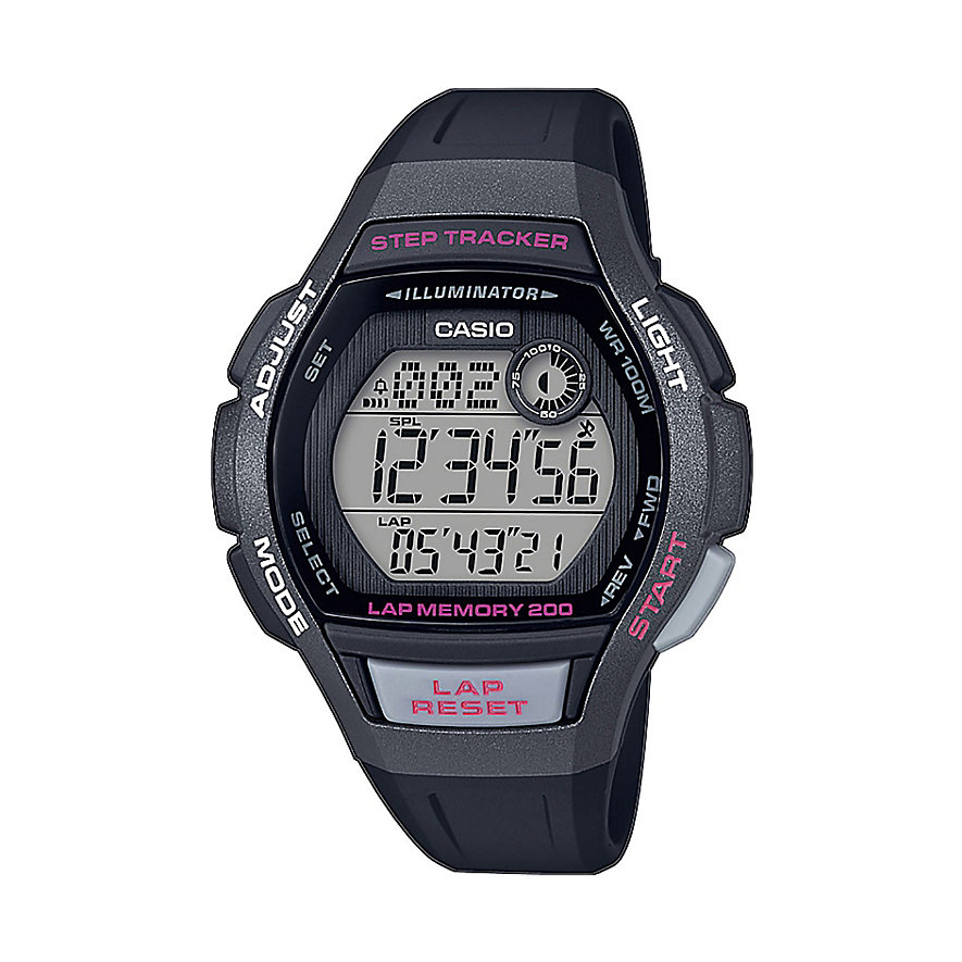 Casio Damenuhr Collection LWS-2000H-1AVEF
