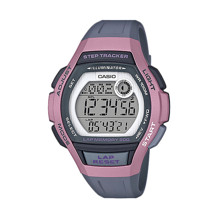 Casio Damenuhr Collection LWS-2000H-4AVEF