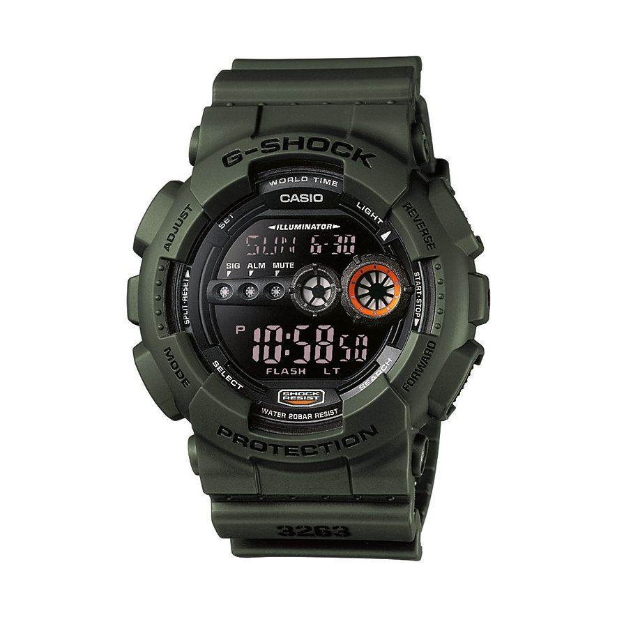 Casio G-SHOCK Classic Herrenuhr GD-100MS-3ER