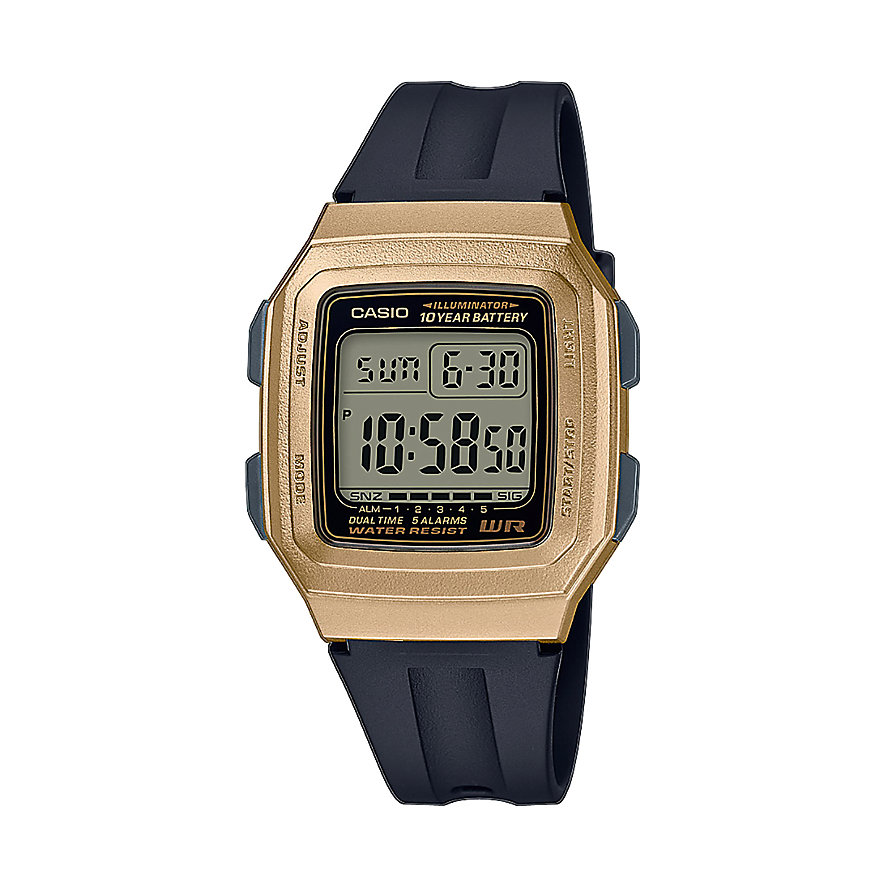 Casio Herrenuhr Casio Collection F-201WAM-9AVEF