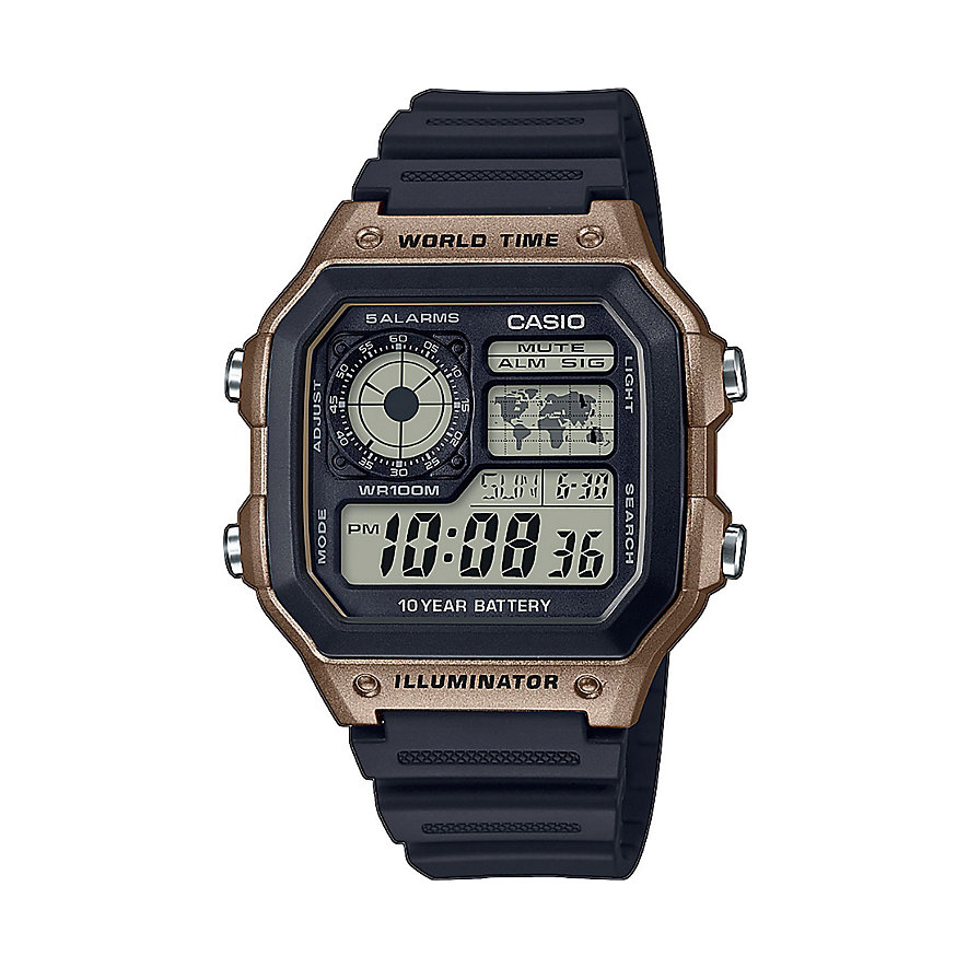 Casio Herrenuhr Casio Collection Men AE-1200WH-5AVEF