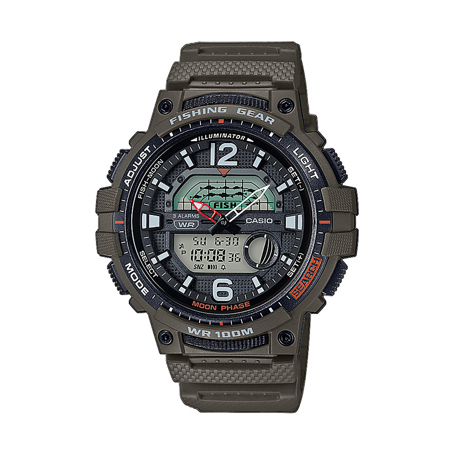 Casio Herrenuhr Casio Collection Men WSC-1250H-3AVEF