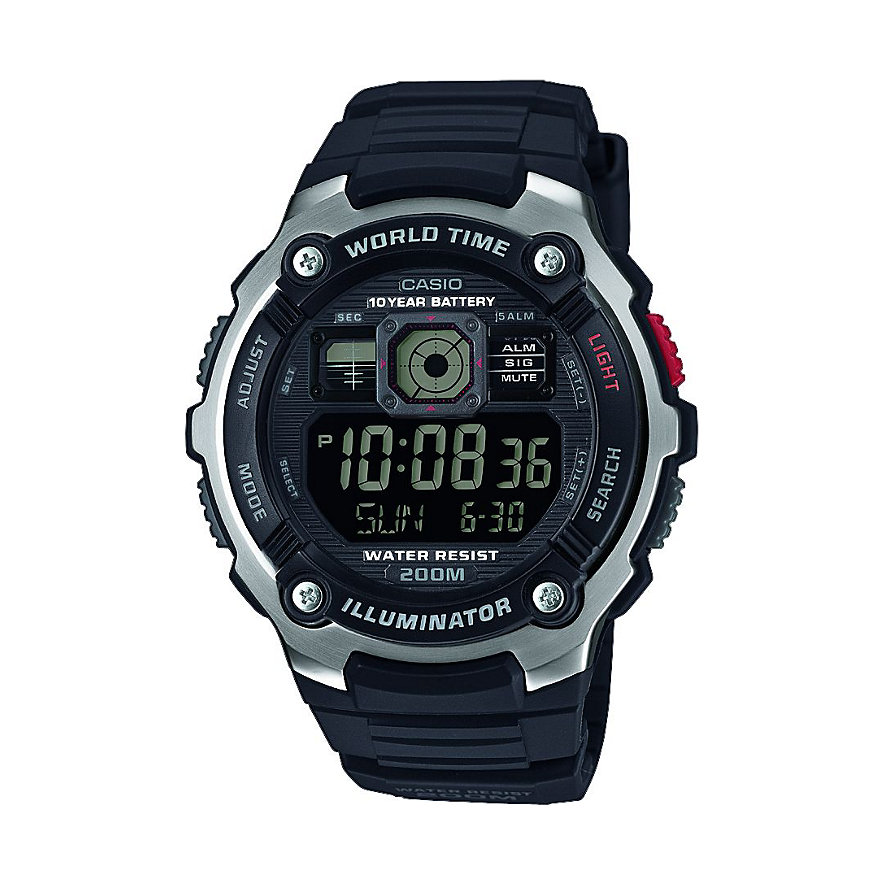 Casio Herrenuhr Collection AE-2000W-1BVEF
