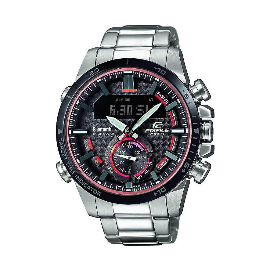 Casio Herrenuhr EDIFICE Bluetooth ECB-800DB-1AEF