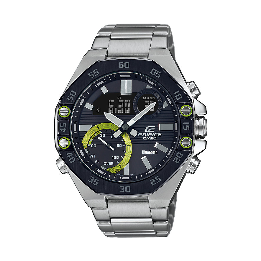 Casio Herrenuhr Edifice Premium ECB-10DB-1AEF