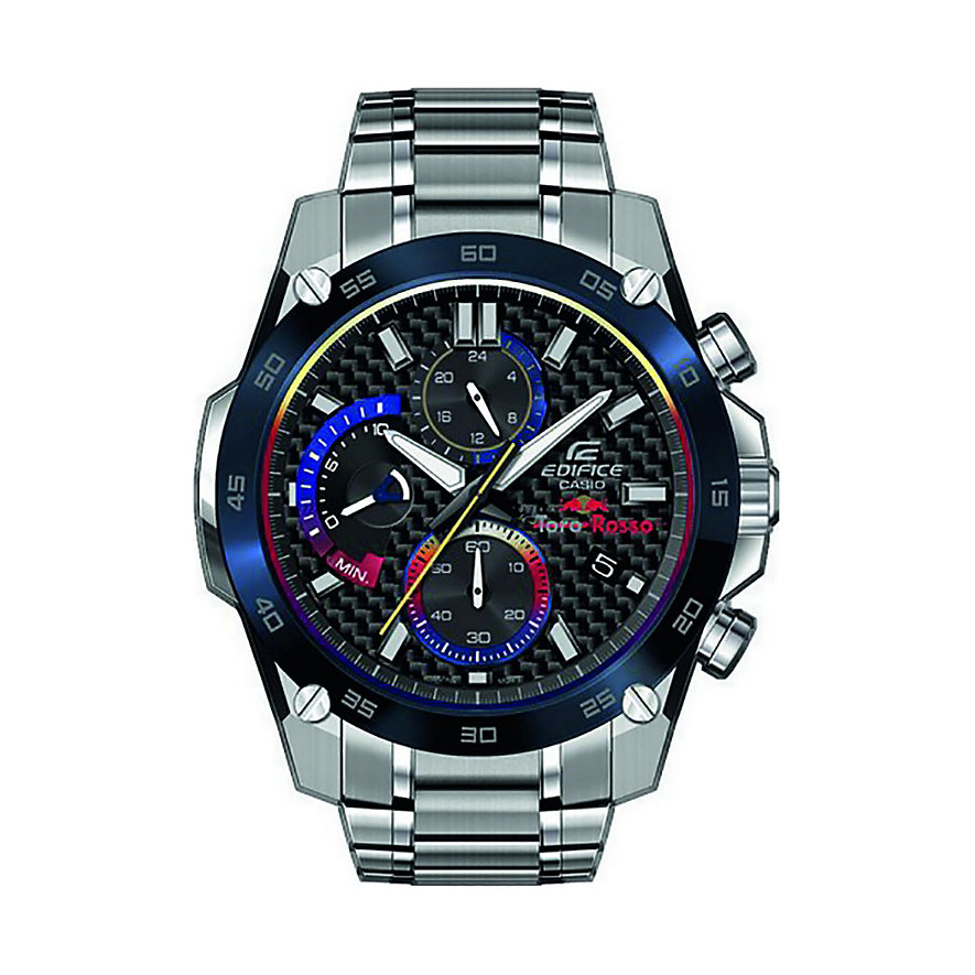 Casio Herrenuhr EDIFICE Toro Rosso Collection EFR-557TR-1AER