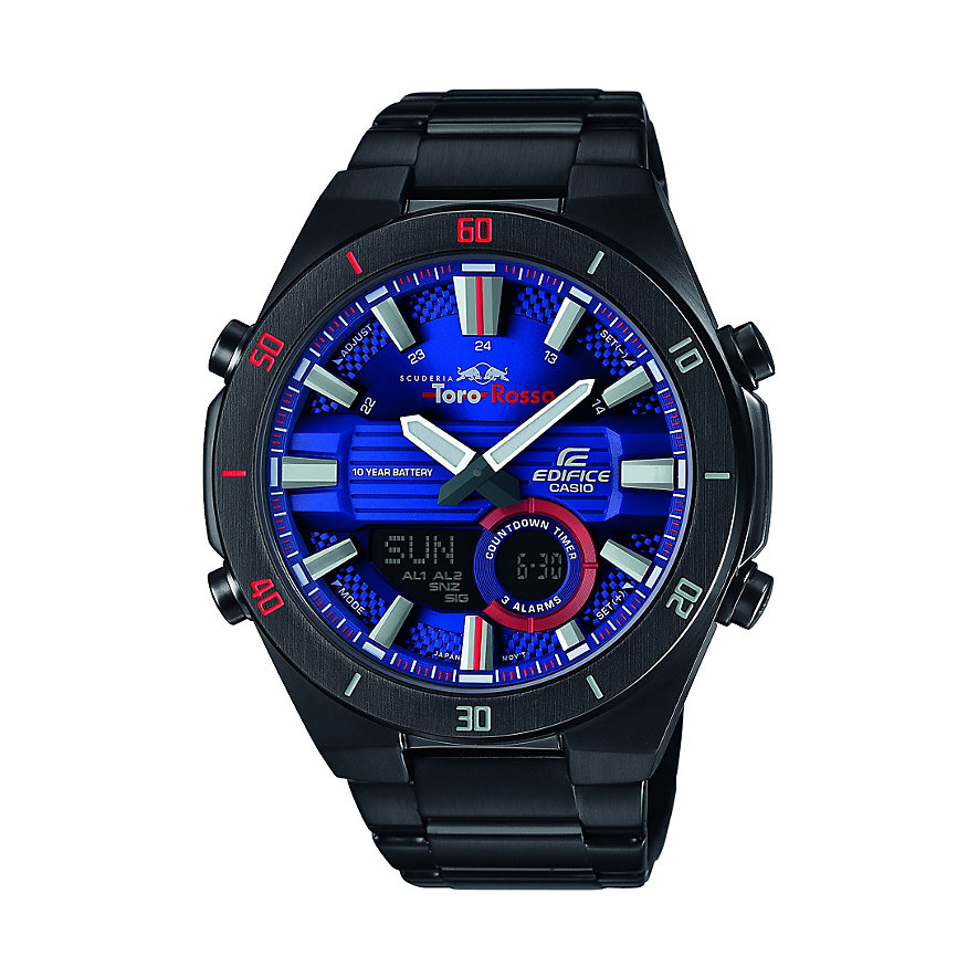Casio Herrenuhr EDIFICE Toro Rosso Collection ERA-110TR-2AER