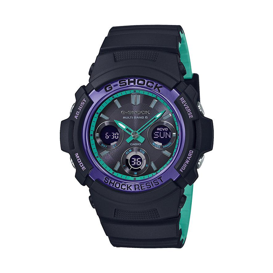 Casio Herrenuhr G-Shock Classic AWG-M100SBL-1AER