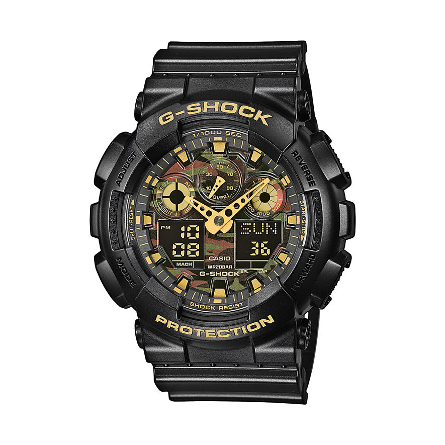 Casio Herrenuhr G-Shock Classic GA-100CF-1A9ER