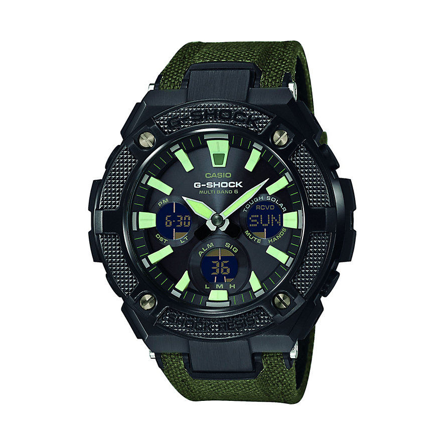Casio Herrenuhr G-SHOCK G-Steel GST-W130BC-1A3ER
