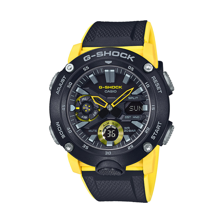 Casio Herrenuhr G-Shock GA-2000-1A9ER