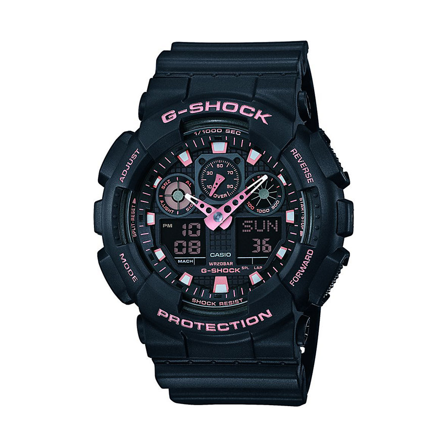 Casio Herrenuhr G-SHOCK Original GA-100GBX-1A4ER