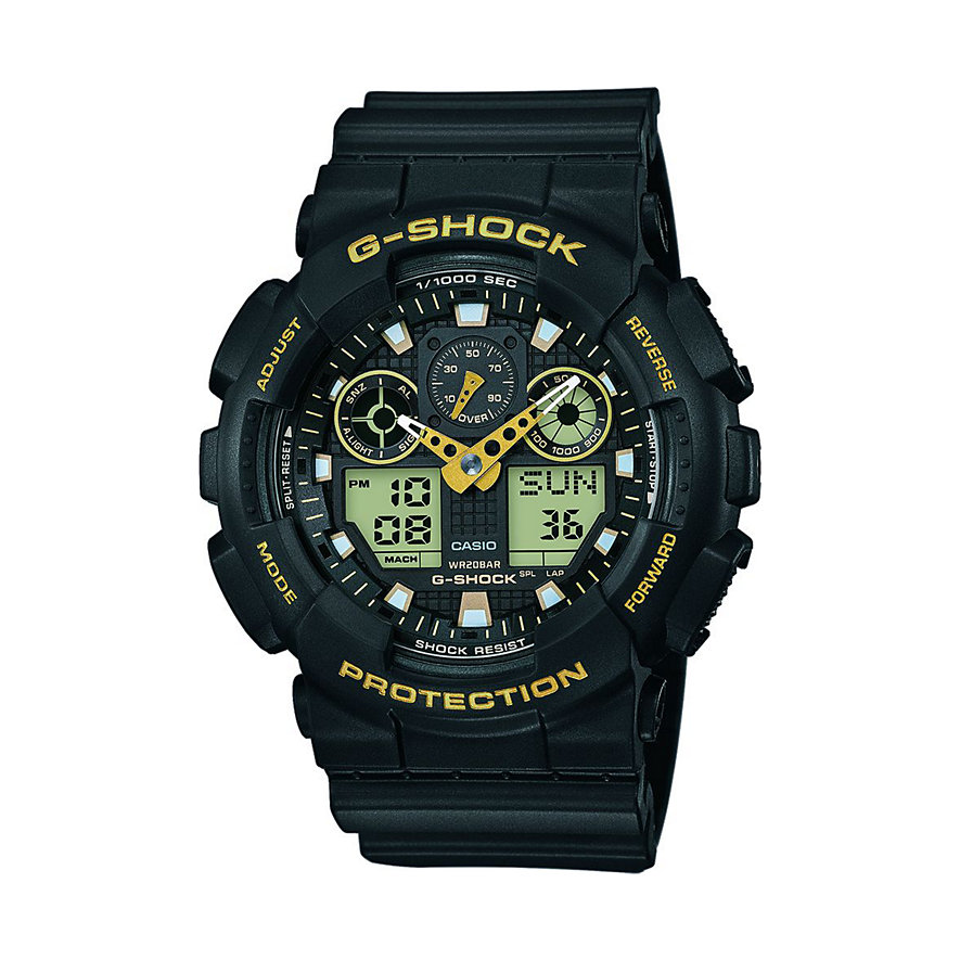 Casio Herrenuhr G-SHOCK Original GA-100GBX-1A9ER