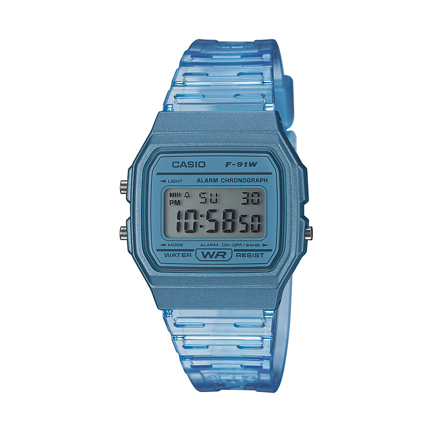 Casio Unisexuhr Casio Collection Women F-91WS-2EF