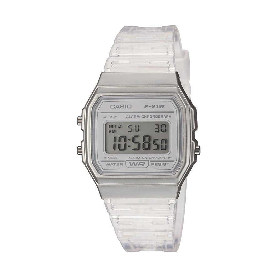 Casio Unisexuhr Casio Collection Women F-91WS-7EF
