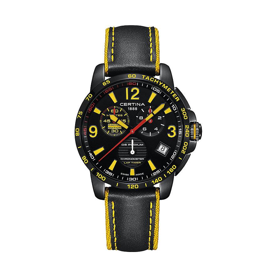 Certina DS Podium Chronograph Lap Time C0344533605710