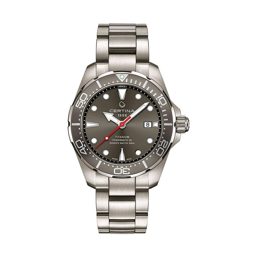 Certina Herrenuhr Aqua DS Action Diver C0324074408100
