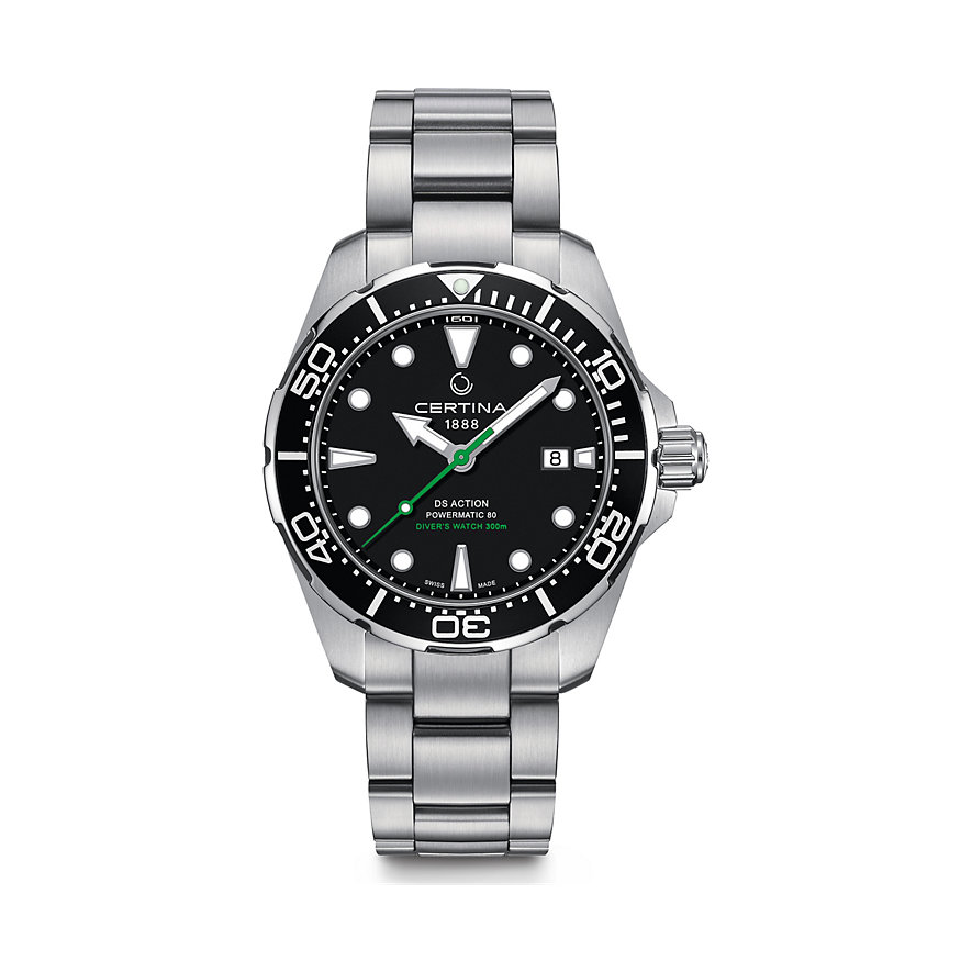 Certina Herrenuhr DS Action Divers Watch C0324071105102