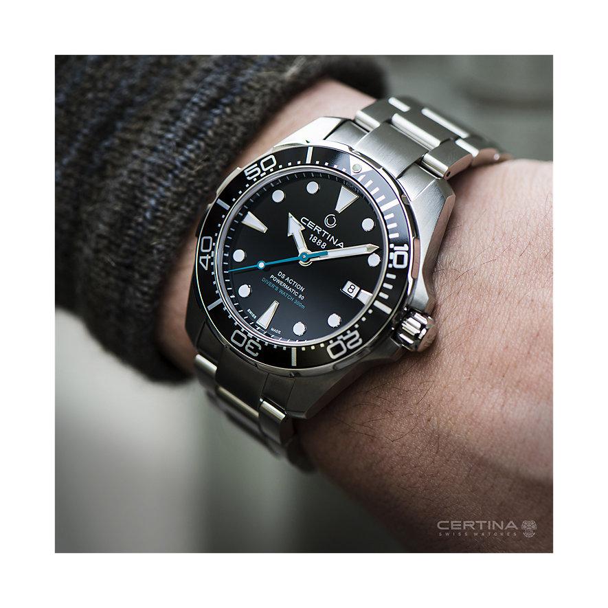 Certina Herrenuhr DS Action Divers Watch C0324071105110