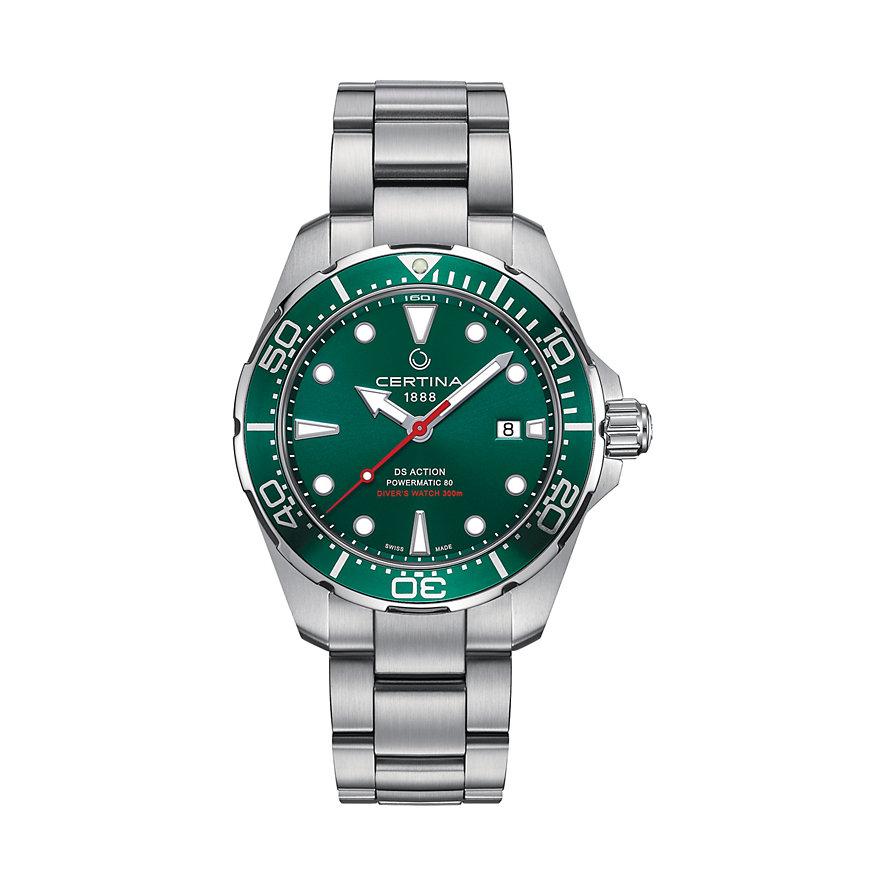 Certina Herrenuhr DS Action Divers Watch C0324071109100