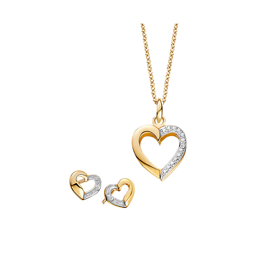 CHRIST Diamonds Schmuck-Set 86908077