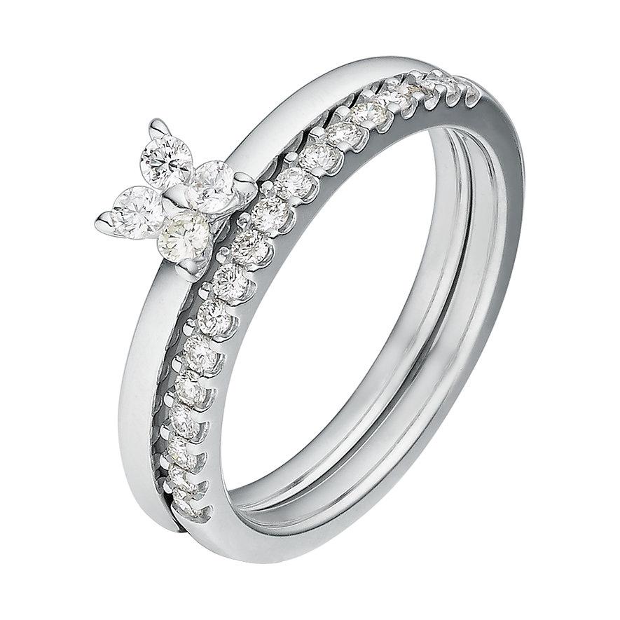 CHRIST Diamonds Schmuck-Set Damenringe 86781824