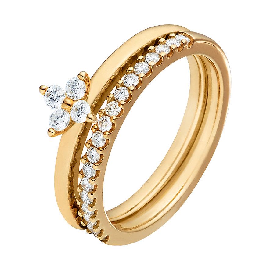 CHRIST Diamonds Schmuck-Set Damenringe 86781883