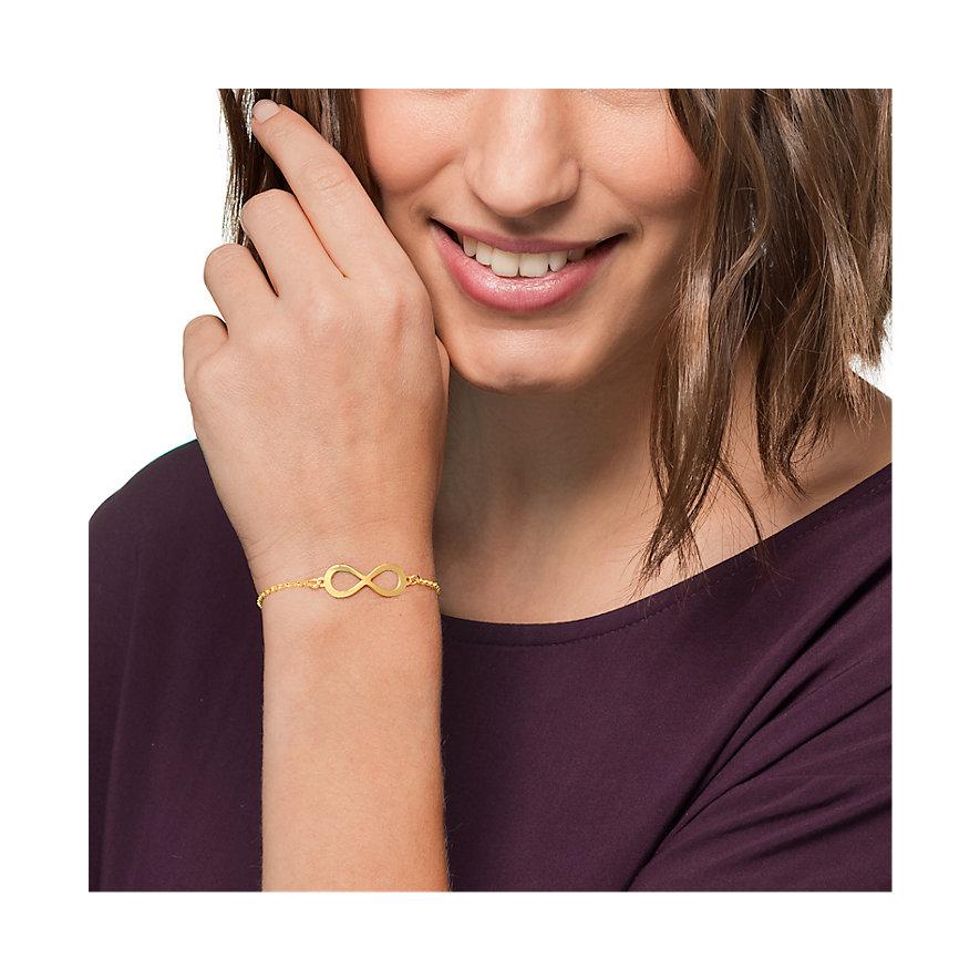 CHRIST Gold Armband Unendlichkeit 86644169