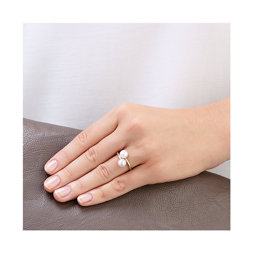 CHRIST Pearls Damenring 60074593