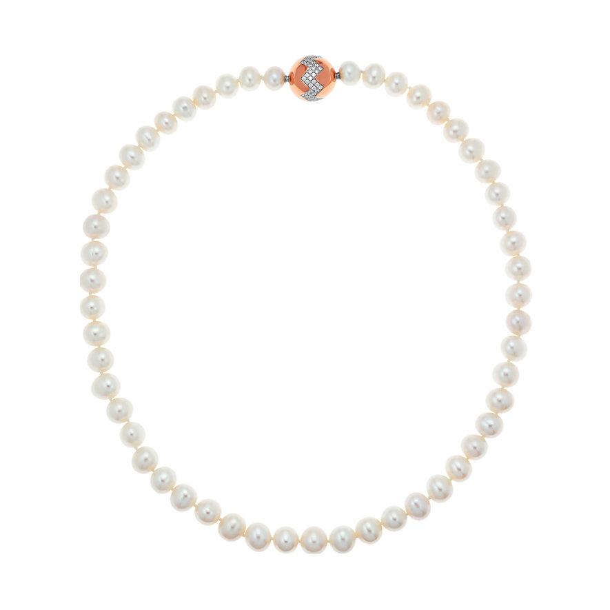 CHRIST Pearls Kette Set-3 Teilig 87038149