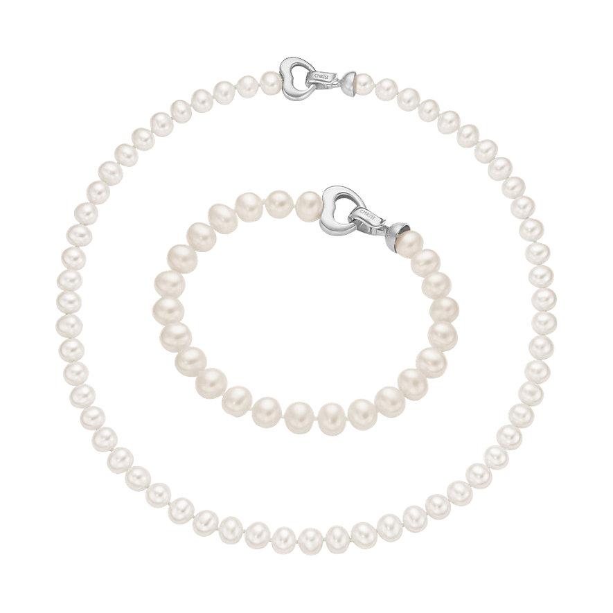 CHRIST Pearls Schmuckset 87458563