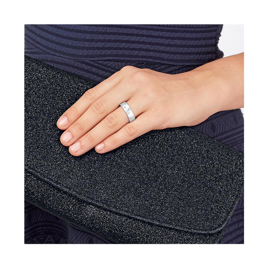 CHRIST Silver Diamonds Damenring 60060428