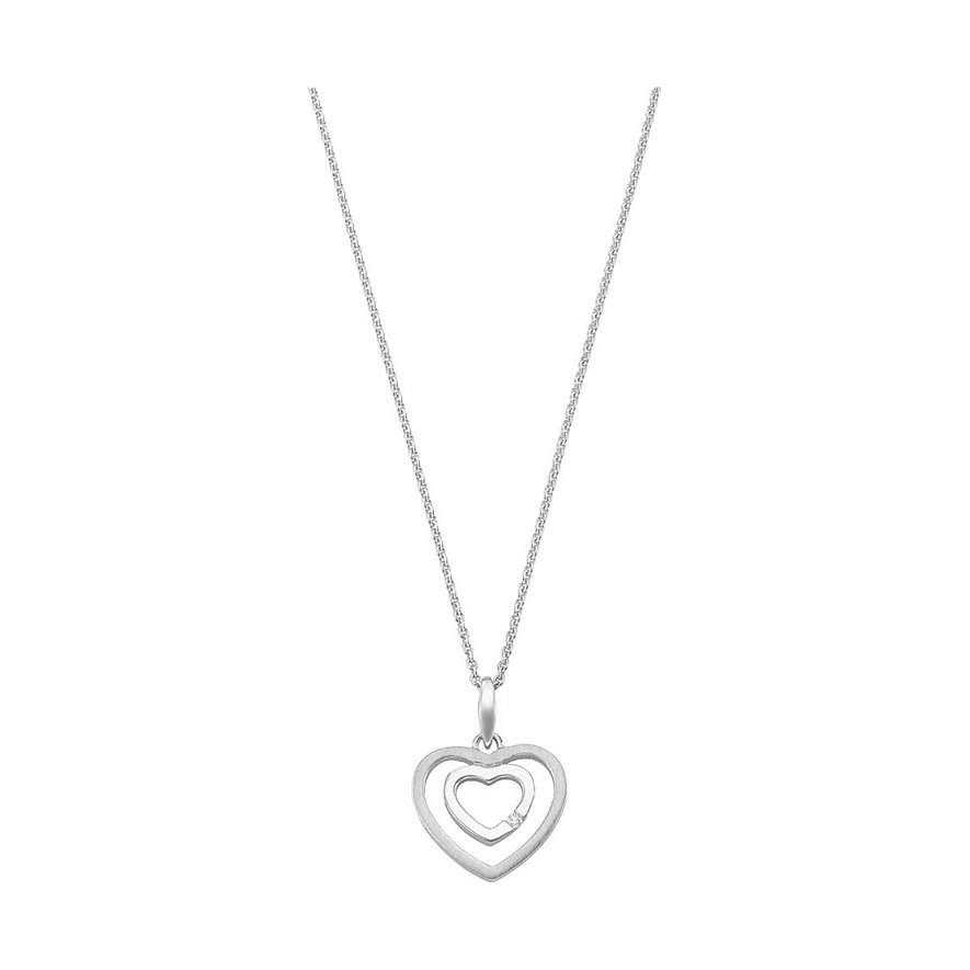 CHRIST Silver Diamonds Kette 86499223