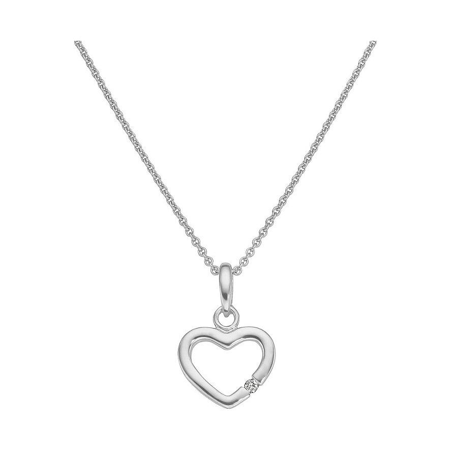CHRIST Silver Diamonds Kette 86499312