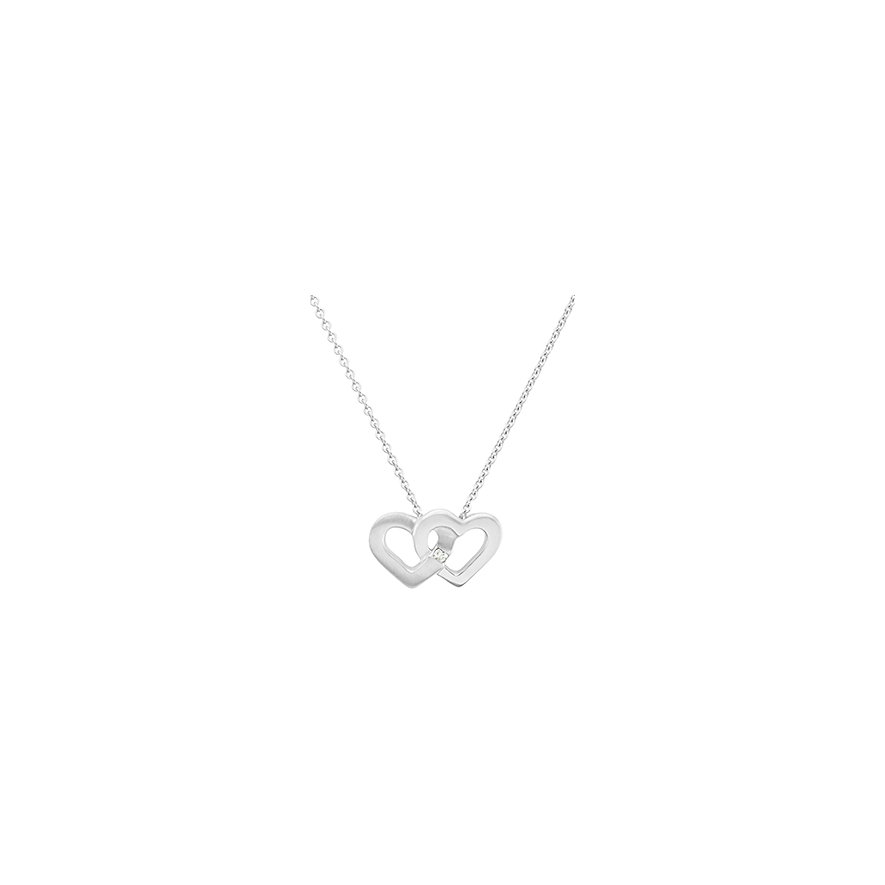CHRIST Silver Diamonds Kette 86615940