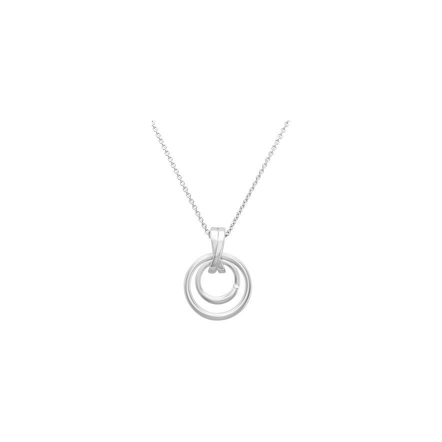 CHRIST Silver Diamonds Kette 87469395