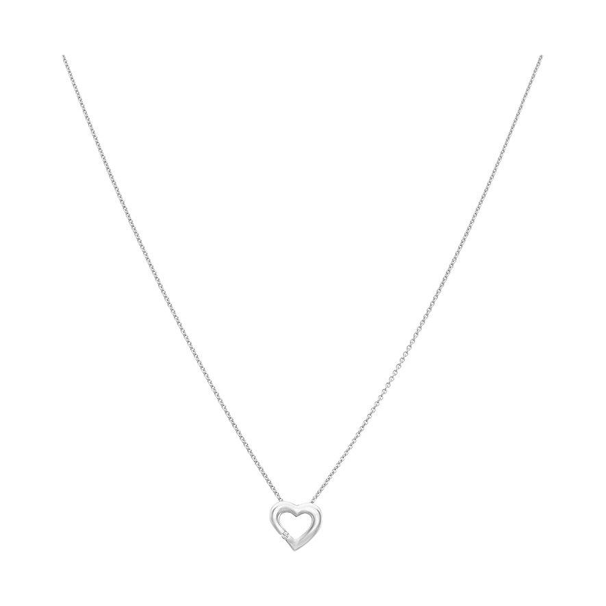 CHRIST Silver Diamonds Kette 87471233