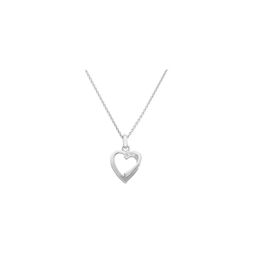 CHRIST Silver Diamonds Kette 87471349