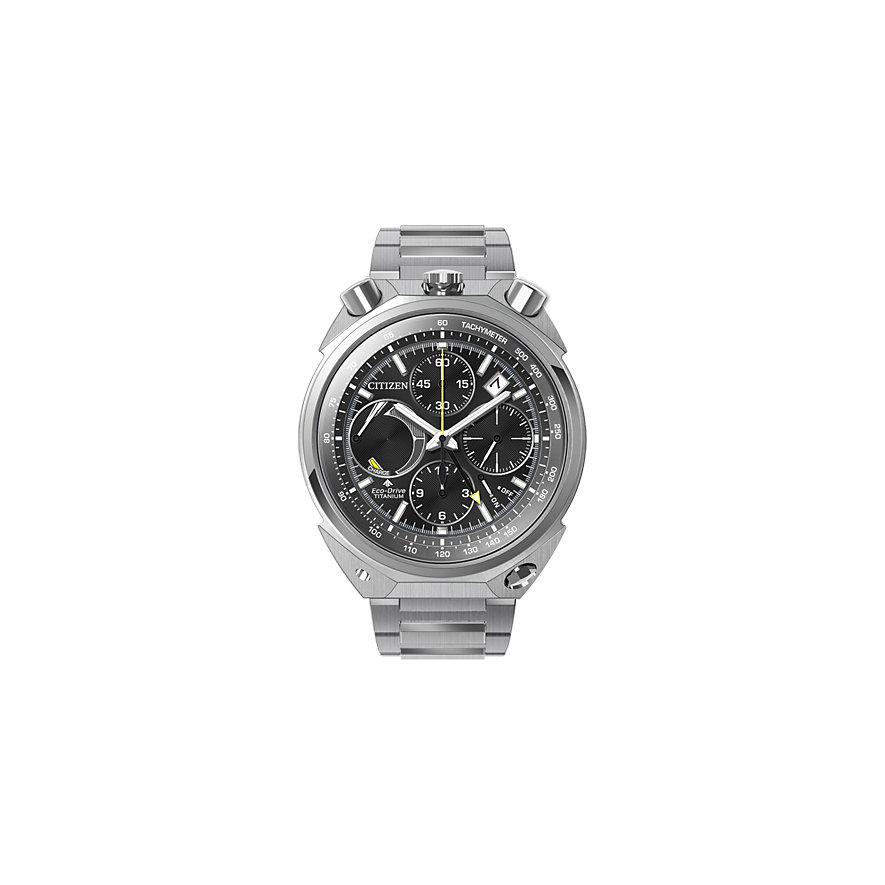 Citizen Chronograph Super Titanium  AV0080-88E