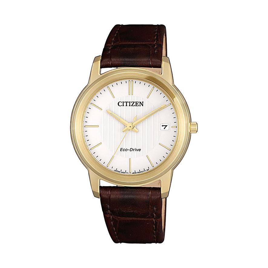 Citizen Damenuhr Leather FE6012-11A